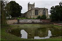 TA0322 : Barton on Humber, St. Mary's Church from Beck Hill by Michael Garlick