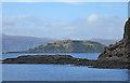 NM7219 : Insh Island from Ellenabeich by Anne Burgess