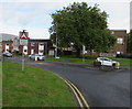 ST2994 : Warning sign - humps for 520 yards, Llywelyn Road, Cwmbran by Jaggery