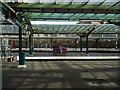 NY4055 : Platform 2 at Carlisle Railway Station by John Lucas