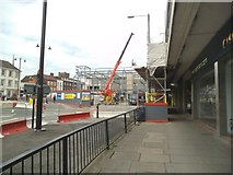 SO8554 :  Worcester Building Site by Gordon Griffiths