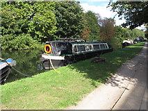 TQ2282 : Noah's Ark,  narrowboat on Paddington Arm, Grand Union Canal by David Hawgood