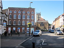 SO7875 : Load Street Bewdley HSBC Bank on Left, Now Closed by Roy Hughes
