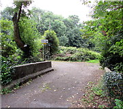 ST2896 : Private bridge and private fishing, Pontnewydd, Cwmbran by Jaggery