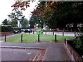 SZ1491 : Southbourne: Twynham Road crosses Belle Vue Road by Chris Downer