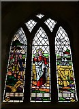 TF1392 : Walesby, All Saints Church: The Ramblers Window by Michael Garlick