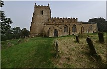 """TF1392 : Walesby, All Saints Church: Built of ironstone and known as """"The Ramblers Church"""" by Michael Garlick"""