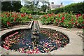 TQ6723 : Water feature at Bateman's by Philip Halling