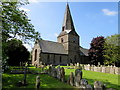 SO5834 : Grade I listed St Mary's Church, Fownhope by Jaggery