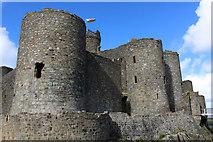 SH5831 : Harlech Castle by Chris Heaton