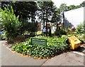 SJ9599 : Woven Willow Garden by Gerald England