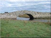 SH3568 : The old bridge at Aberffraw by David Purchase