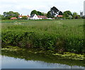 SK7288 : Clayworth village viewed from the Chesterfield Canal by Mat Fascione