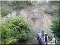 SJ6408 : Maddock's Hill  quarry by Stephen Darlington