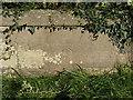 SO7295 : OS benchmark - Apley estate, Lower Lodge bridge by Richard Law