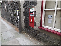 TL8966 : Post Office George VI Postbox by Adrian Cable