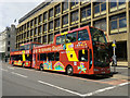NS5965 : Tourist buses on George Square by Thomas Nugent