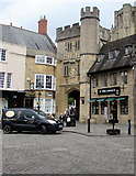 ST5545 : Wells Cathedral Shop, Wells by Jaggery