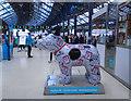 TQ3104 : Snowdog #11, Brighton Station Concourse by Paul Gillett