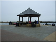 NZ8911 : Bandstand, Pier Road, Whitby 2016 by JThomas