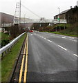 SO1402 : Footbridge over the A4049, New Tredegar by Jaggery