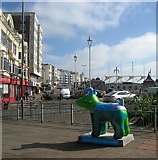 TQ3103 : Snowdogs by the Sea: #24 - Southdowns Dog by Simon Carey