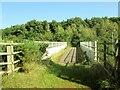 SE5830 : Footbridge  over  A63  at  Brayton  Barff by Martin Dawes