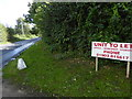 TQ1809 : Looking out of Annington Commercial Centre onto Annington Road by Shazz