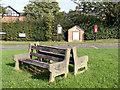 SJ5756 : Haughton village green by Norman Caesar