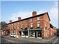 SP0344 : High Street Shops, Evesham by Des Blenkinsopp