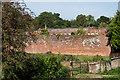 TQ1448 : Wall, Old Bury Hill Gardens by Ian Capper