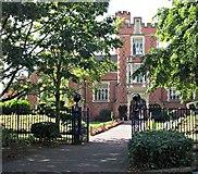 SK5319 : Endowed Schools Entrance, Loughborough, Leics. by David Hallam-Jones
