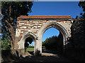 TL3800 : Waltham Abbey gatehouse by Stephen Craven