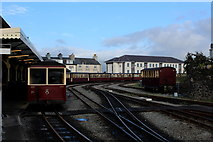 SH5738 : Porthmadog Harbour Station (2) by Chris Heaton