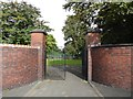 SJ8748 : Entrance to Cobridge Park by Jonathan Hutchins