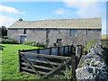 NY7448 : Barn and sheep pens at Blagillhead by Mike Quinn