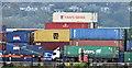 J3678 : Containers, Belfast harbour (October 2016) by Albert Bridge