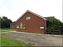 TM1686 : Tivetshall Village Hall by Adrian Cable