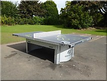 SJ8748 : Outdoor table tennis facility in Cobridge Park by Jonathan Hutchins