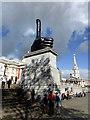 TQ2980 : Really Good - Trafalgar Square's Fourth Plinth artwork by PAUL FARMER