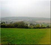 SW6239 : Cornish farmland by N Chadwick
