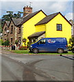 SO6101 : Yellow corner of Aylburton by Jaggery