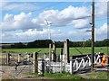 SE7412 : Operating the gates at Medge Hall by Christine Johnstone