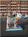 TQ3004 : Snowdog #8, opposite Hilton Hotel by Paul Gillett