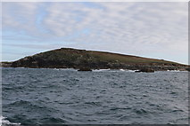 SV8917 : The north end of St Helen's by Andrew Abbott