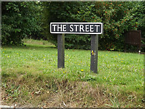 TM1686 : The Street sign by Adrian Cable