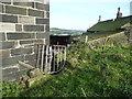 SE0224 : Sowerby Bridge FP55 (1) - Footpath gate at Haven by Humphrey Bolton