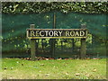 TM1685 : Rectory Road sign by Adrian Cable