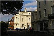 SP3265 : Corner of Church Street and Church Terrace, Leamington Spa by Christopher Hilton