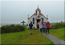 HY4800 : Entrance to the Italian Chapel at Lamb Holm by Clint Mann